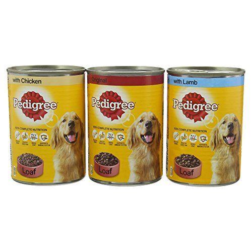 Buy Now 6 60 Pedigree Meat Loaf Wet Dog Food Variety Pack