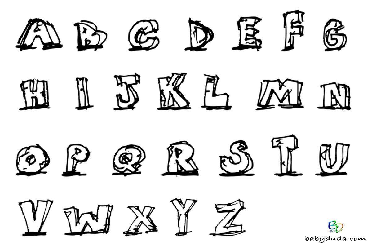 Die 20 Besten Ideen Fur Buchstaben Malvorlagen Di 2020 Dengan Gambar