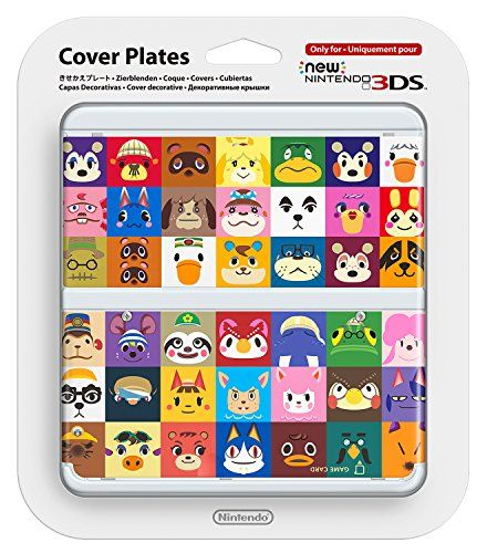 New nintendo white animal crossing happy home designer cover plate pack image also cameron norton on pinterest rh