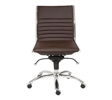 Fowler Armless Swivel Desk Chair Office Chair Modern Office Chair Chair