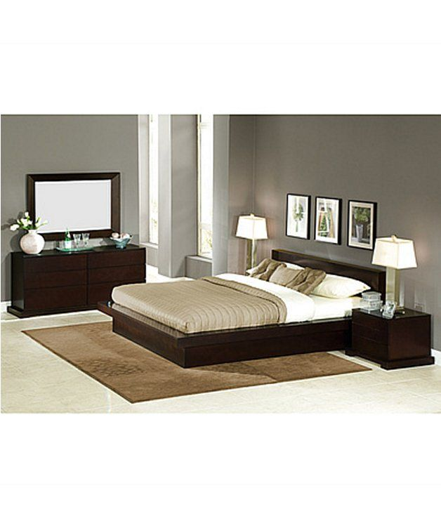 Lifestyle Solutions 4 Piece Zurich Bedroom Set Decorations