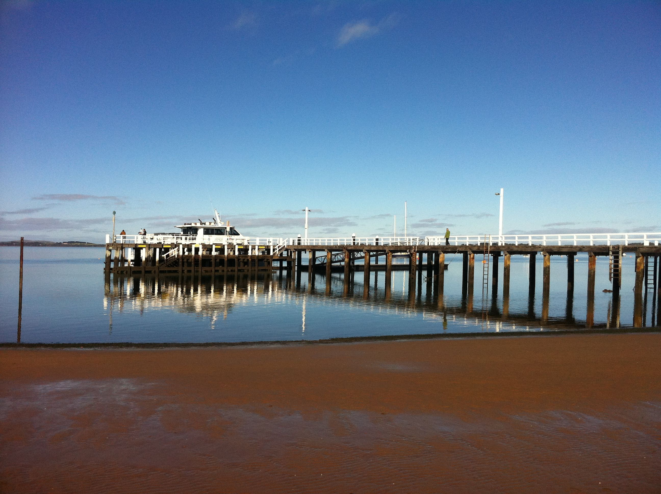 Rhyll pier, Philip Island is a great place for photos