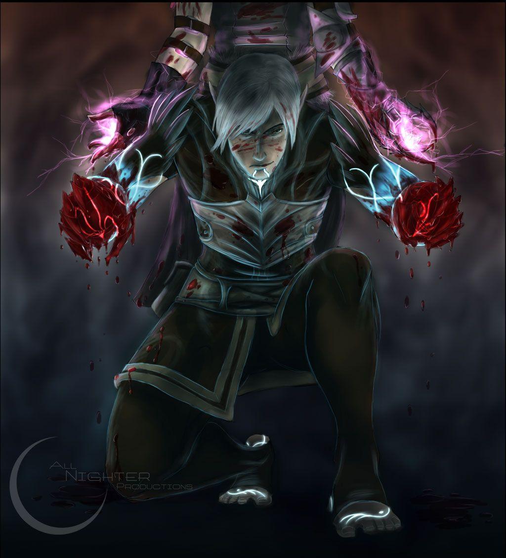 DA2: Blood by ~Armesan on deviantART. Fenris :(