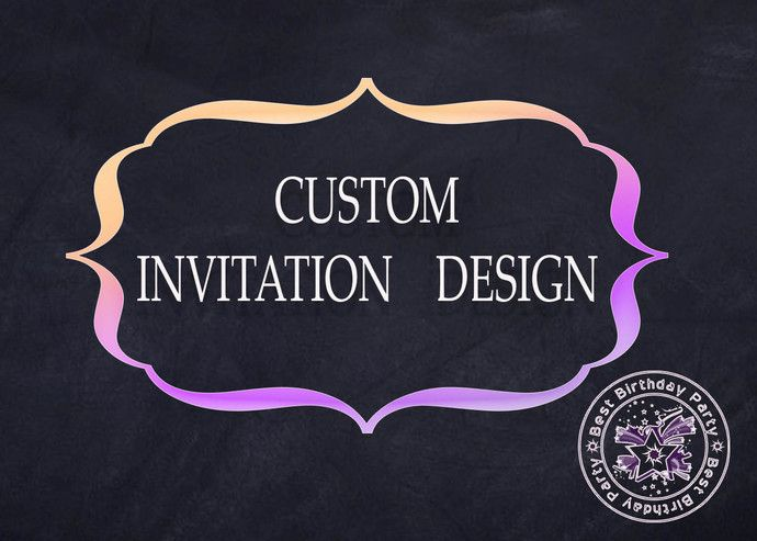Custom Invitations Custom Invitations Cards Custom Party Invitations