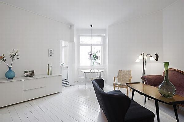 Simple And Elegant White Apartment Apartment Design Apartment