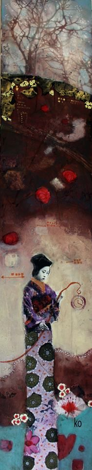Corinne Ko   Figurative Mixed Media painter   Tutt'Art@   Pittura * Scultura * Poesia * Musica  