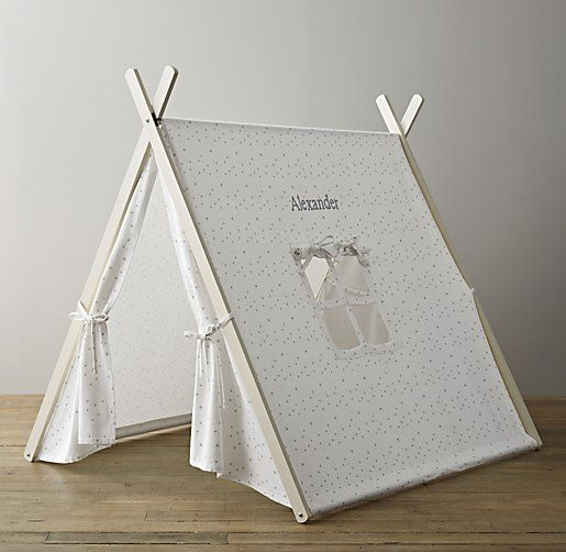 A-Frame Indoor Tent - Grey Star