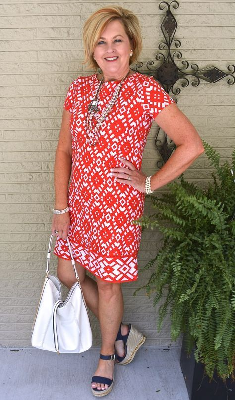 f6e716b0a94b 50 IS NOT OLD | SHIFT DRESS | Summer dress | Fashion over 40 for the