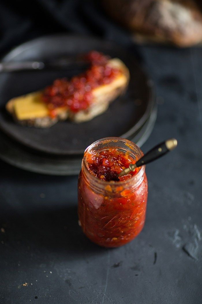 Red pepper & chilli jam