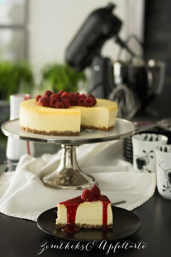 Fluffy, creamy and incredibly tasty: Classic New York cheesecake
