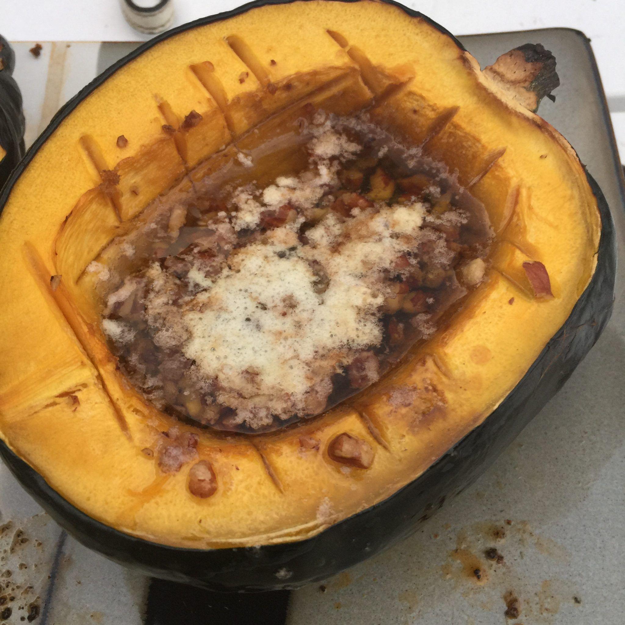 Acorn Squash With Brown Sugar And Pecans Recipe Recipes Acorn