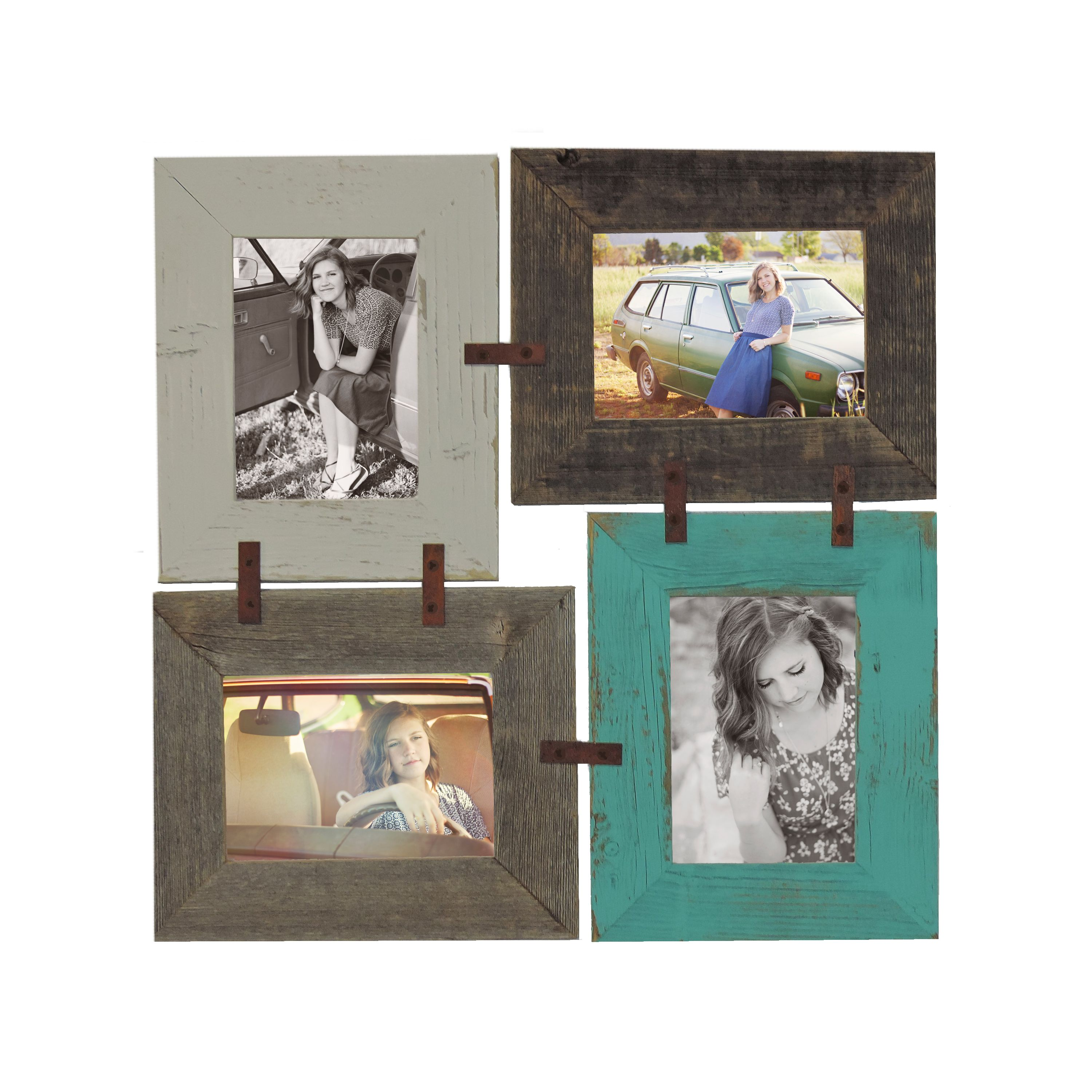 Diy 4x6 multi picture frame collage kit for multiple