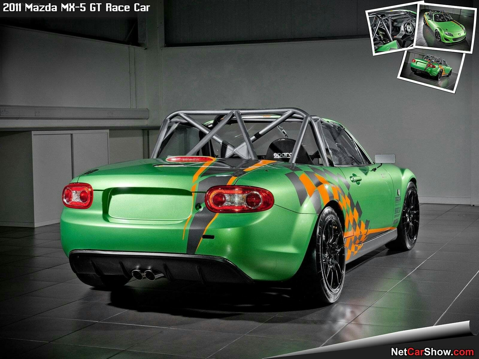Mazda MX-5 GT Race Car (2011) - picture 3 of 5   Race Car Liveries ...