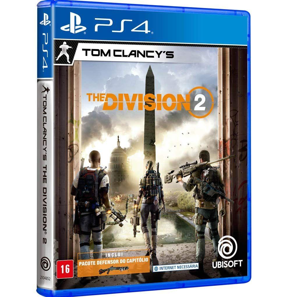 Tom Clancy S The Division 2 Edicao De Lancamento Playstation 4 Tom Clancy Rpg Online Xbox One