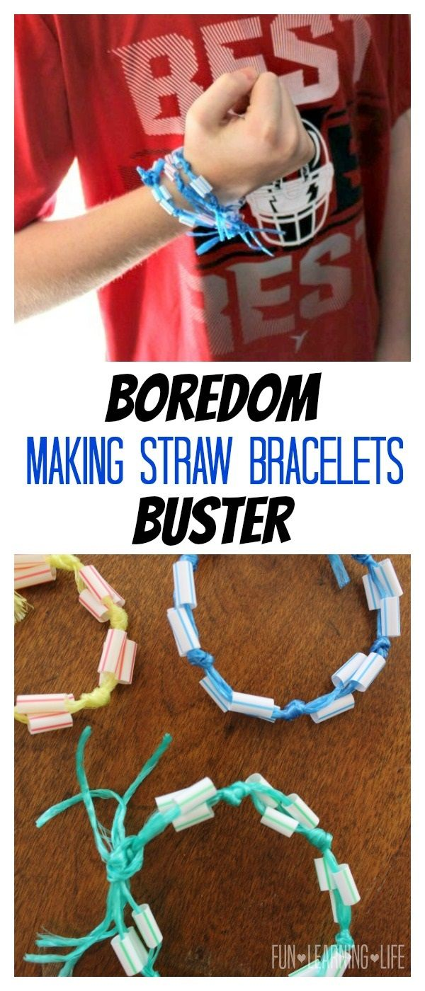 Straw Bracelet Craft Inspired By Disney Channel S Andi Mack Andimack Beourguestevent