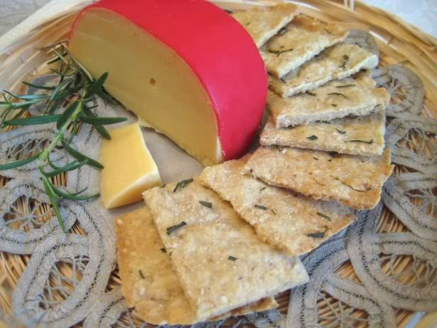 Rosemary Onion Wafers (low carb)