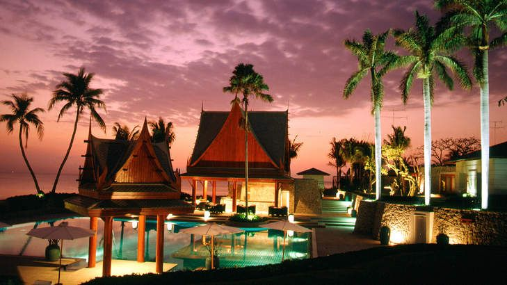 Worlds away: a resort at Hua Hin, Thailand.
