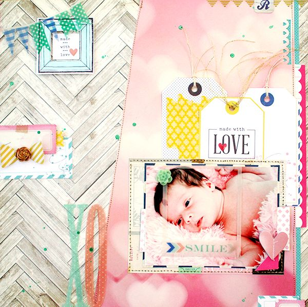 Made with Love by Heather | via Gossamer Blue