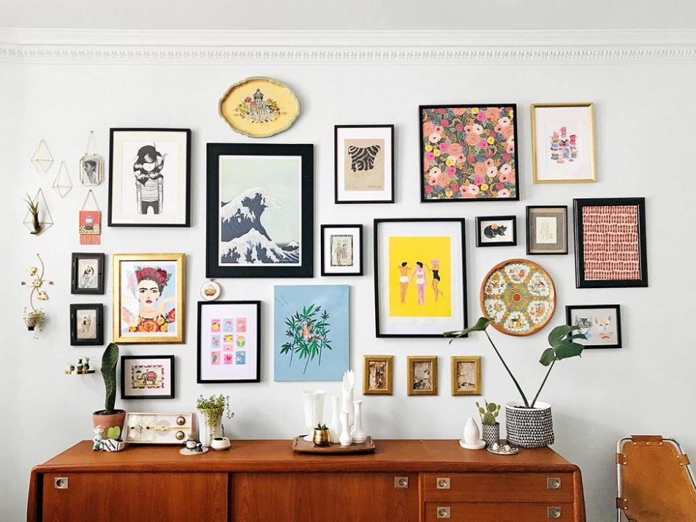 11 Easy Ways To Put Together A Gallery Wall - Chatelaine