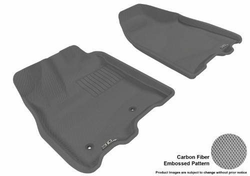 3d Maxpider Front Row Custom Fit All Weather Floor Mat For Select