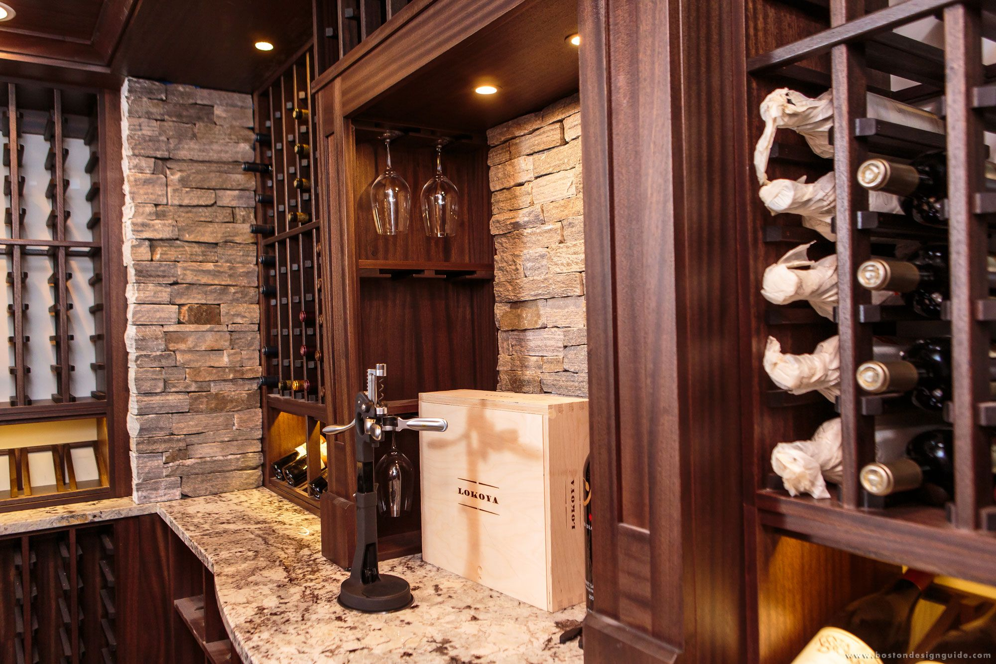 Charles River Wine Cellars High End Custom Residential Wine