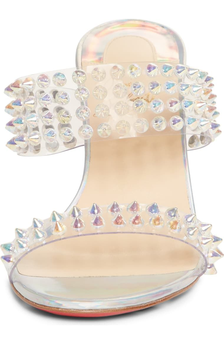 Christian Louboutin Spikes Only Slide
