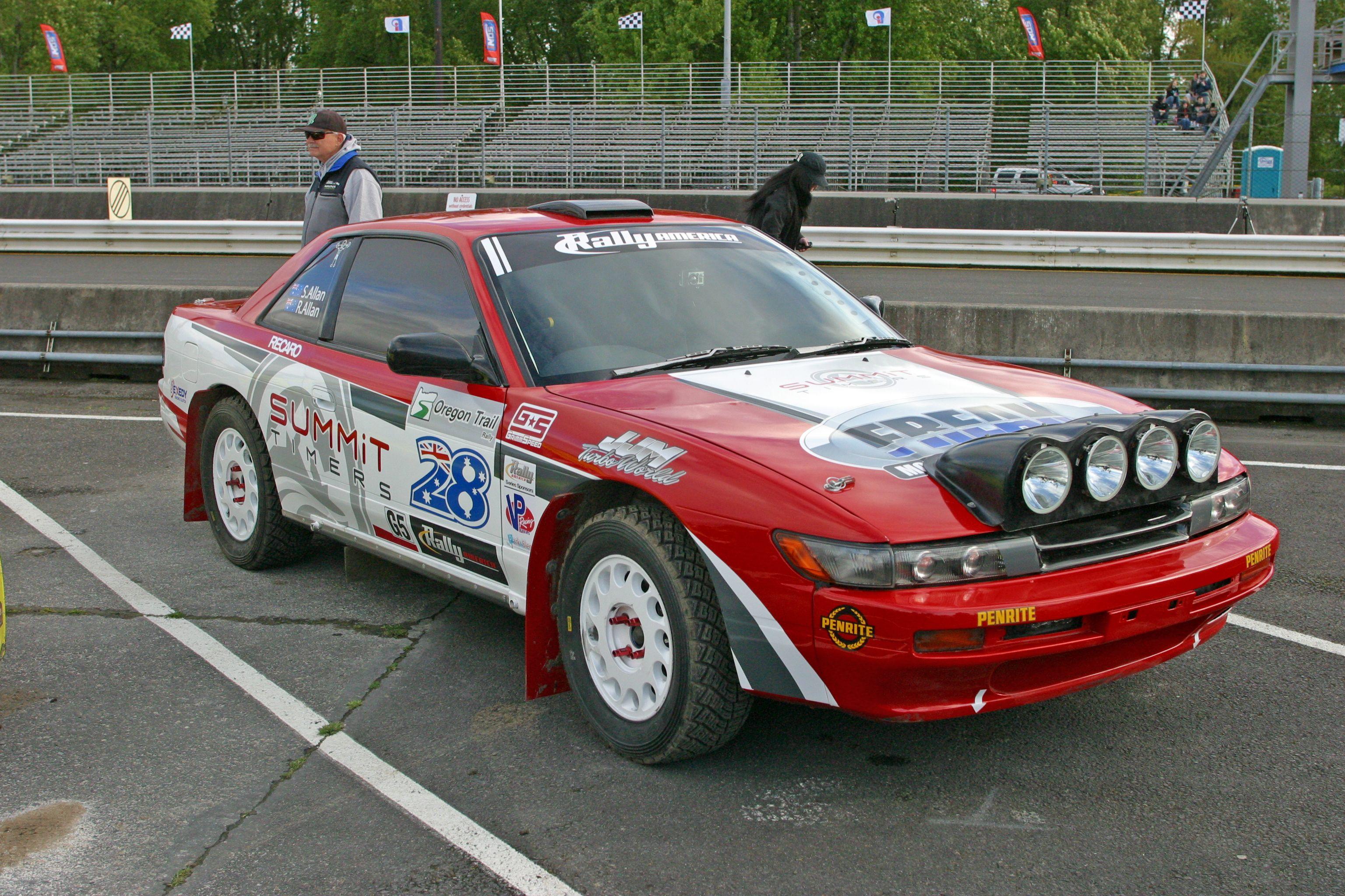 Nissan Silvia (S13) Rally Car | Classic Cars | Pinterest | Nissan ...