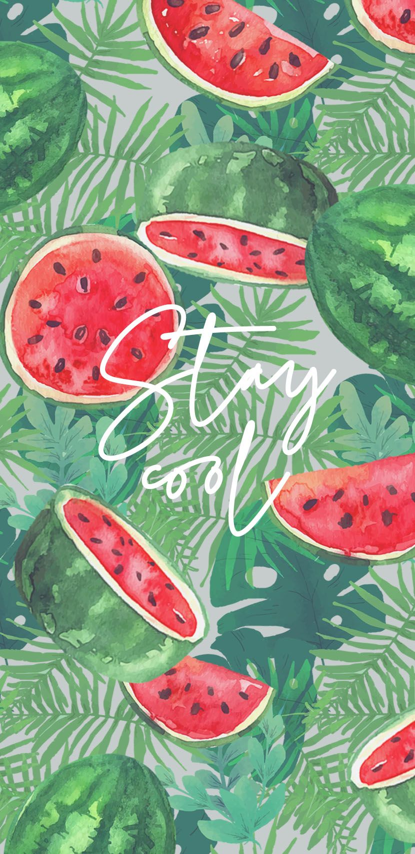 Say It With A Wallpaper Cute Summer Wallpapers Wallpaper Iphone Summer Watermelon Wallpaper