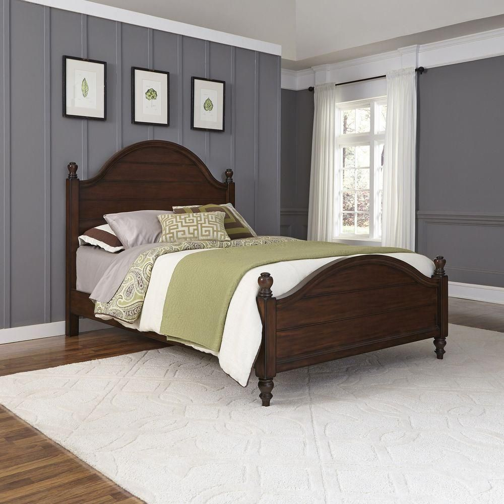 County comfort aged bourbon queen bed frame products