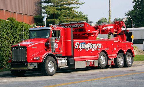 KW - Jerr-Dan 85 Ton Rotating Boom Wrecker Tow Trucks Pinterest