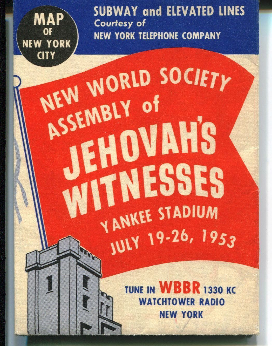 Watchtower 1953 Ny Subway Map Jehovah S Witnesses Beliefs Witness