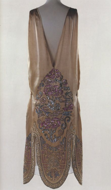 Norman Hartnell Gown with Chinese Embroidery c.1920's