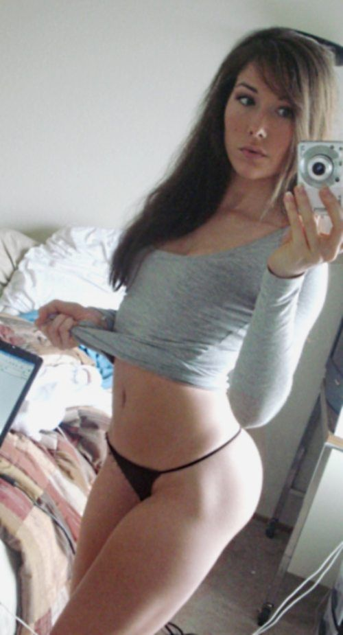 shot Amateur panties self