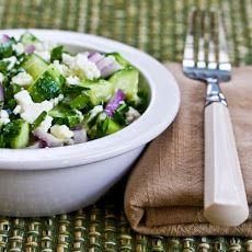 Cucumber, Onion, and Parsley Salad Recipe