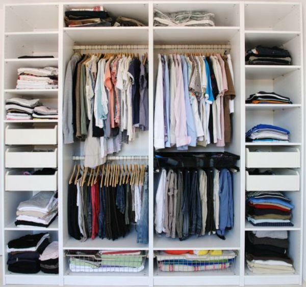 Chambre A Coucher 103 Grandes Idees Archzine Fr Amenagement Placard Chambre Amenagement Dressing Amenagement Interieur Placard