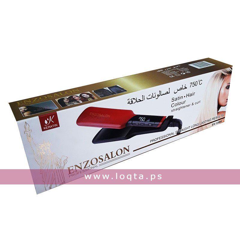 مكواة شعر من Enzosalon 750 درجة مئوية Loqta Ps Color Hair Color Hair