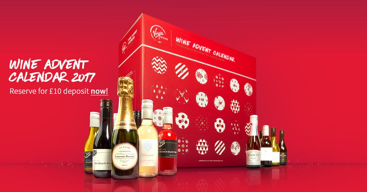 Virgin Wines Advent Calendar.The Virgin Wines Advent Calendar Is Back Sold Out In 2016 So