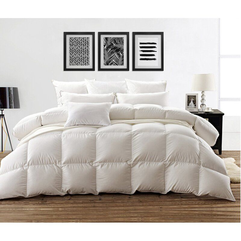 Duck Summer Down Comforter With Images White Down Comforter