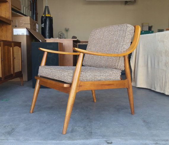 Tremendous Vintage 1960S Tell City Danish Modern Lounge Chair Solid Download Free Architecture Designs Griteanizatbritishbridgeorg