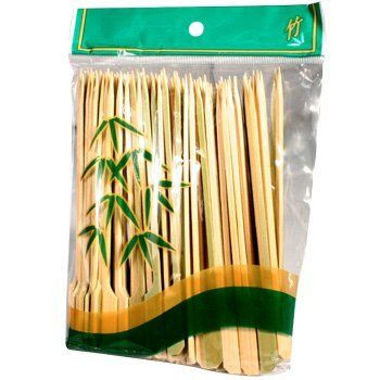 Bamboo Skewers 15 cm by AFG. $2.90. Bamboo Skewers 15 cm, contains 100 pieces. Product of China