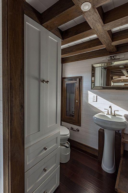 La Tiny House Chattanooga lo tiene todo | casitas de madera ...