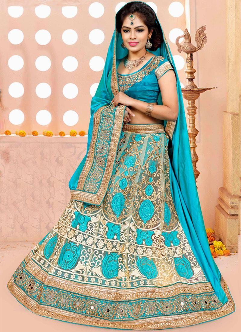 Online shopping for indian wedding and bridal lehenga choli in ...