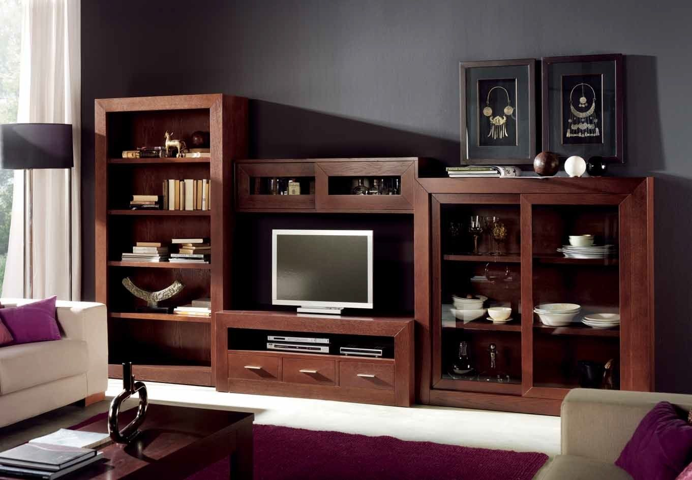 Muebles Modulares De Salon Mueble Modular Tv Completo De Saln  # Muebles Modulares Lukar
