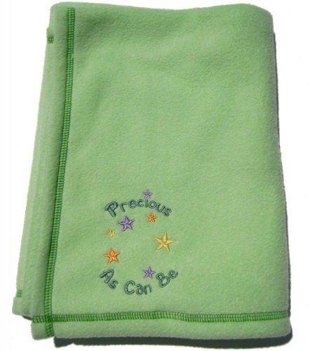 Fleece Embroidered Baby Blanket Green Personalized Fleece Embroidered Baby Blanket Green By Emeral Embroidered Baby Blankets Green Baby Blanket Baby Colors