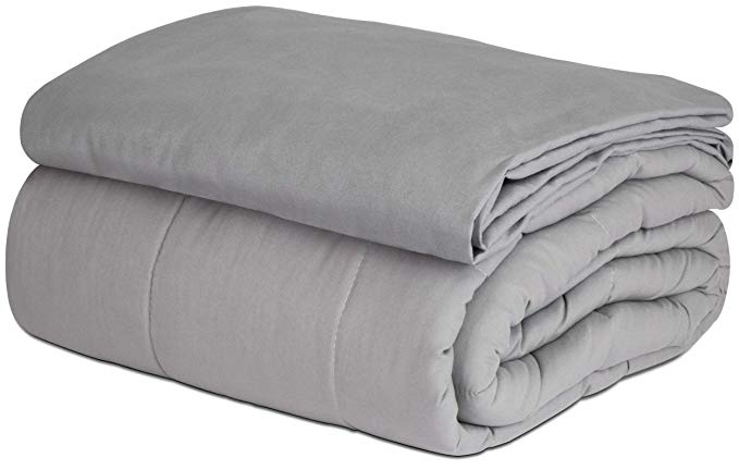 Amazon Com Safr Home Therapy Weighted Blanket Removable Cover