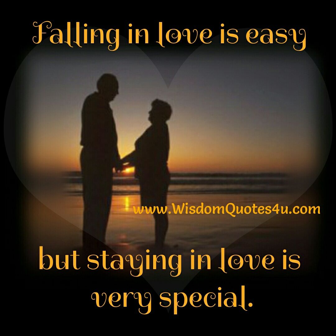 Falling in Love is easy   Inspirational quotes, Quotes