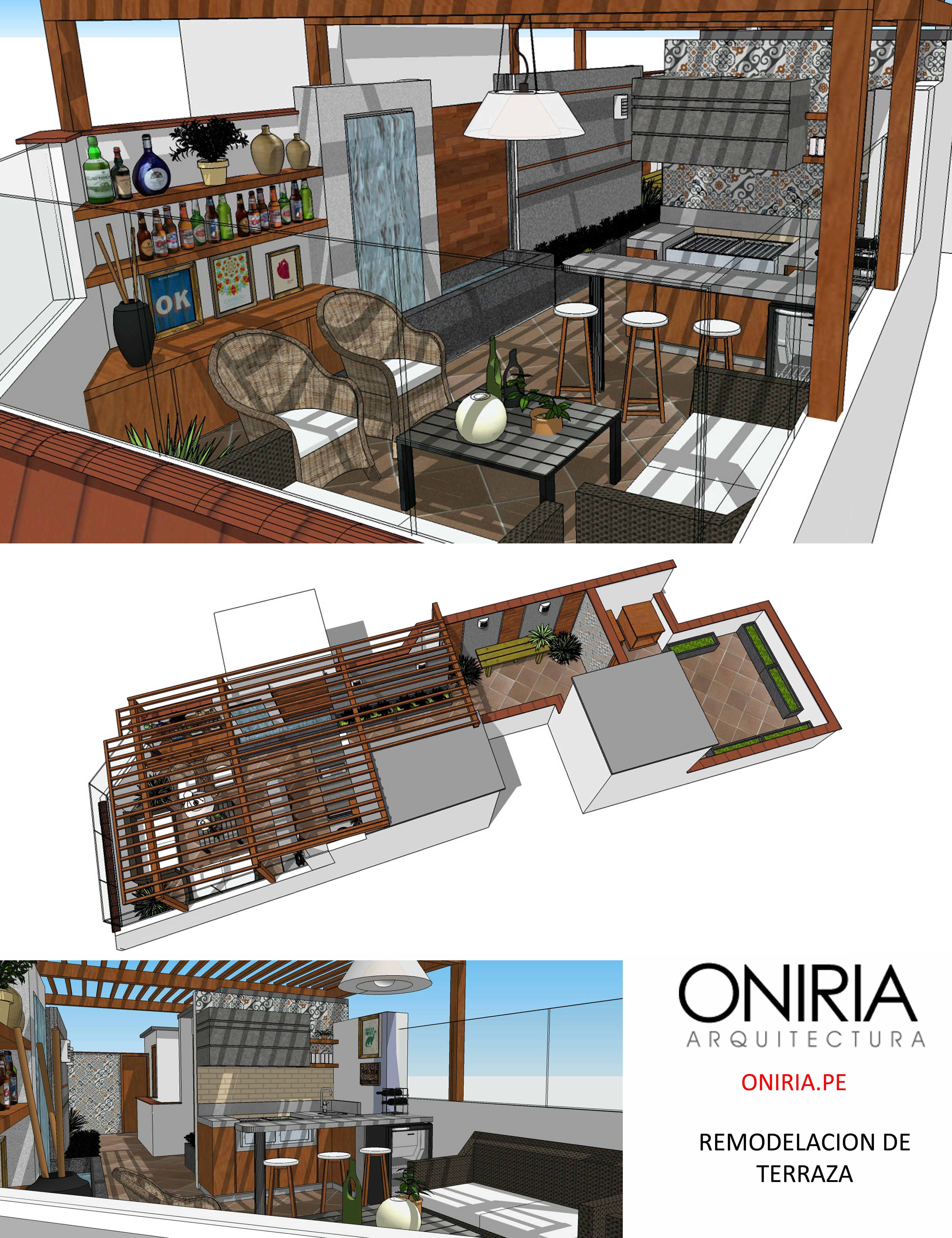 Terraza En Aires Diseño De Terraza Techo De Patio Terrazas