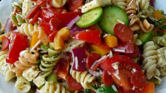 Pasta Salad with Homemade Dressing images