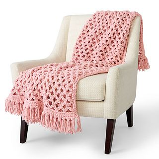 Photo of Love Knot Blanket pattern by Yarnspirations Design Studio