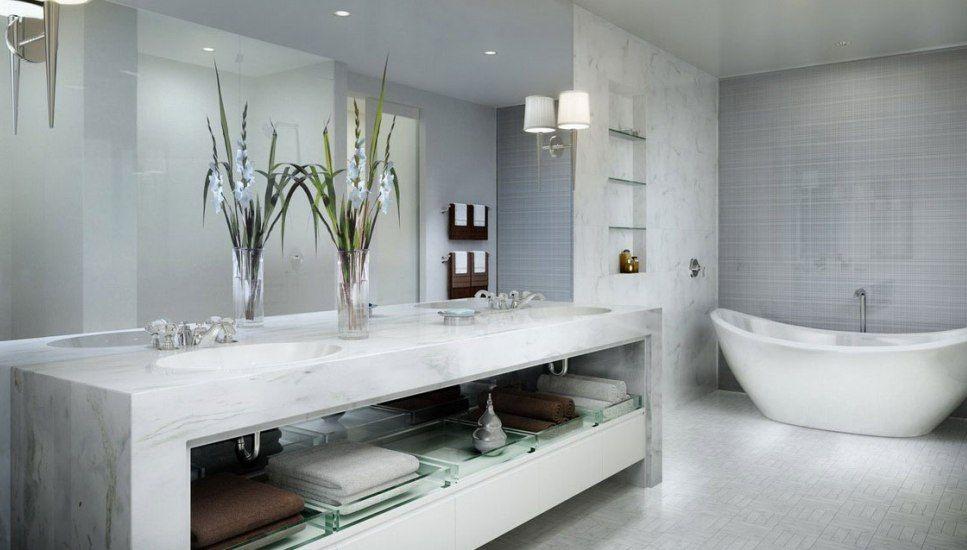 30 Modern Luxury Bathroom Design Ideas Salle De Bain Design Salle De Bain Grise Salle De Bains Moderne